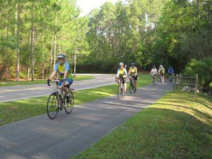 Pathway biking