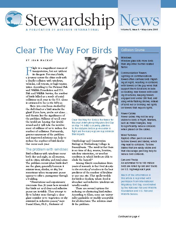 Volume 8, Issue 3 | Early Summer 2005